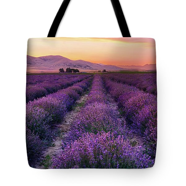 Endless Lavendar 65 Tote Bag