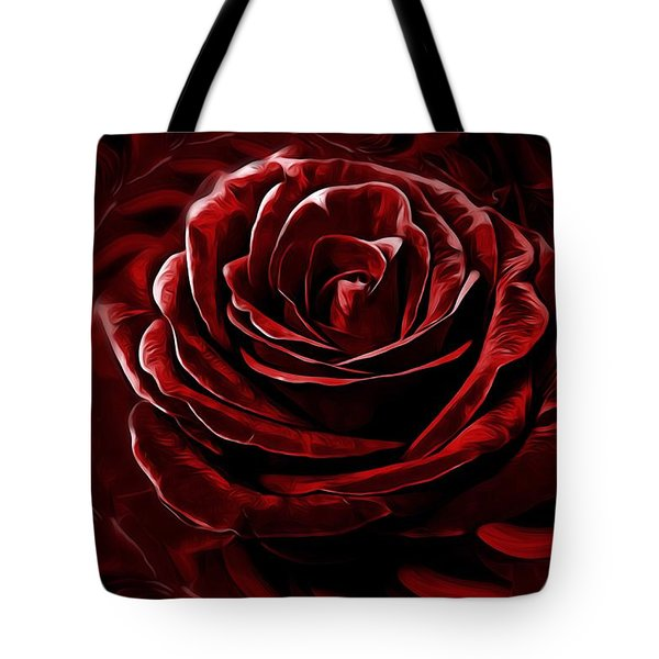 Endless Love Tote Bag by Gabriella Weninger - David