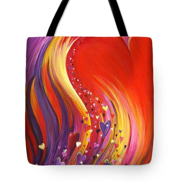 Arise My Love Tote Bag