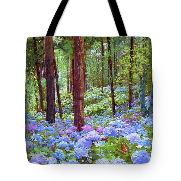Endless Summer Blue Hydrangeas Tote Bag