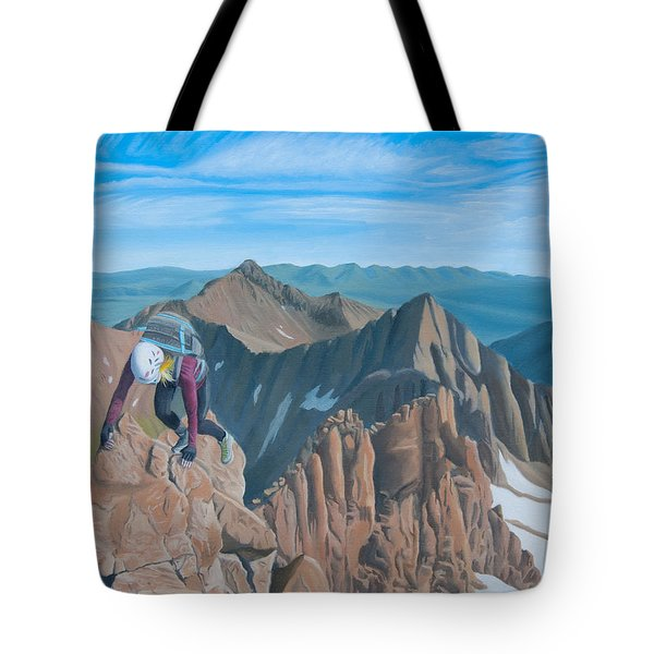 Ends Of The Earth Tote Bag
