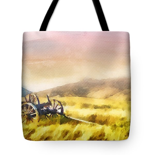 Tote Bag featuring the painting Enduring Courage by Greg Collins