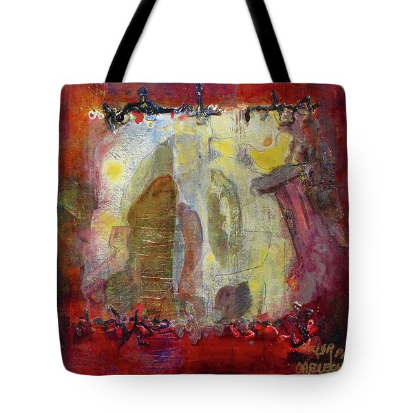 Energies And The Yellow Bird Tote Bag