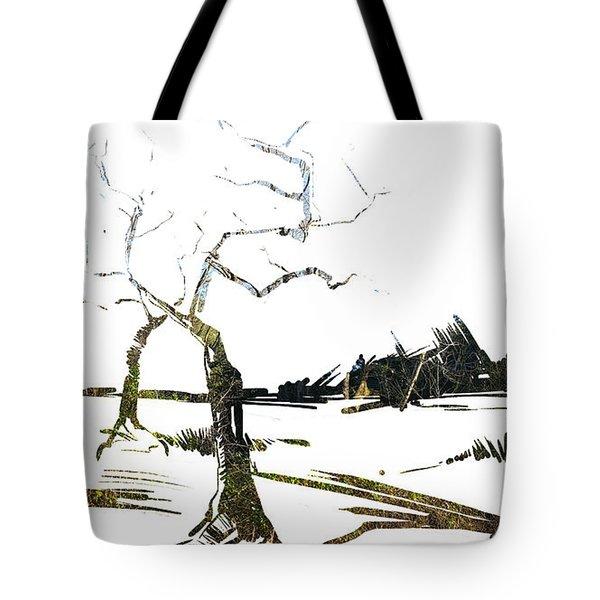 Energy . Tree Tote Bag