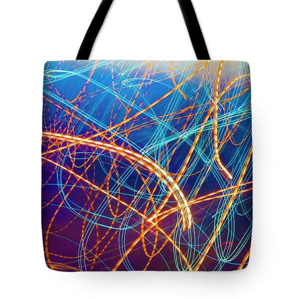 Energy Tote Bag by Betsy Knapp