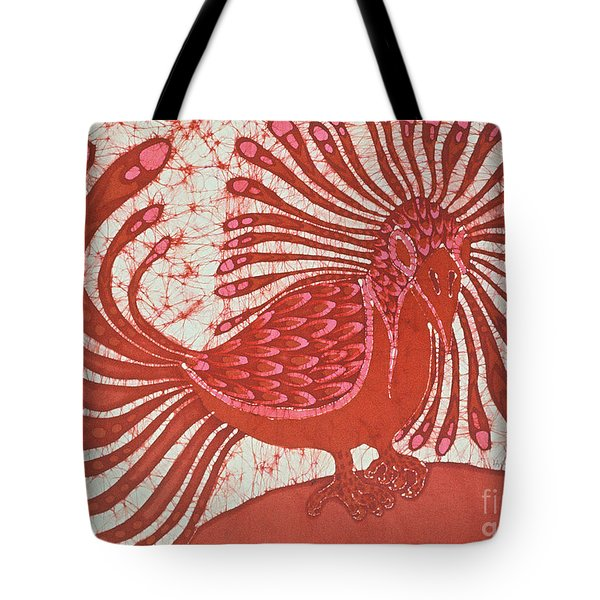 Energy Bird Tote Bag