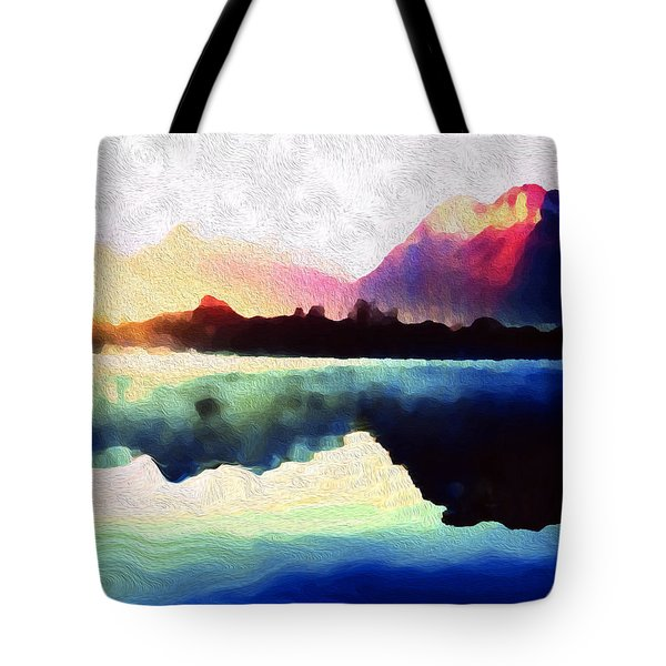 Energy Flow Tote Bag