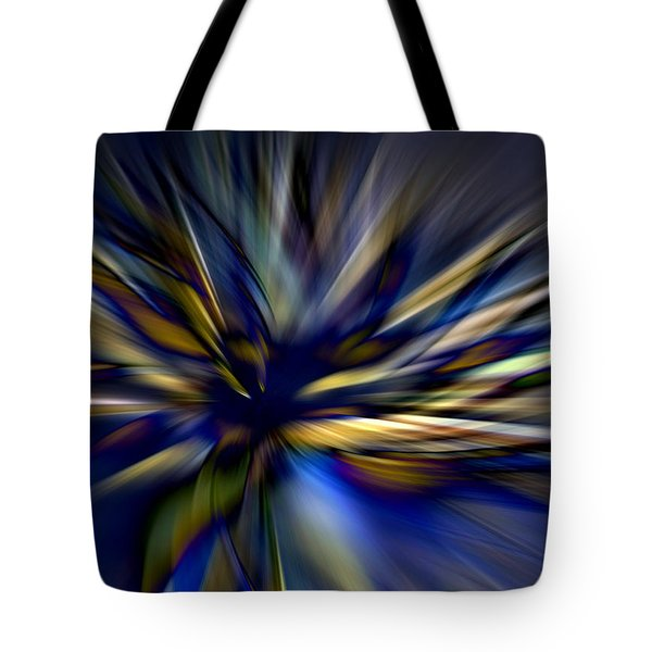 Energy In Flight Tote Bag by Lauren Radke