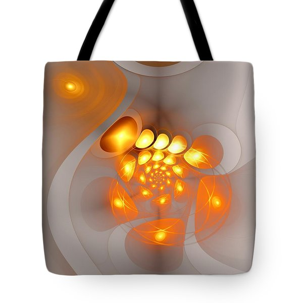 Tote Bag featuring the digital art Energy Source by Anastasiya Malakhova