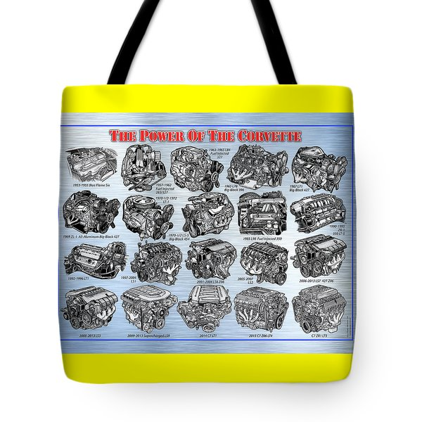 Eng-19_corvette-engines Tote Bag