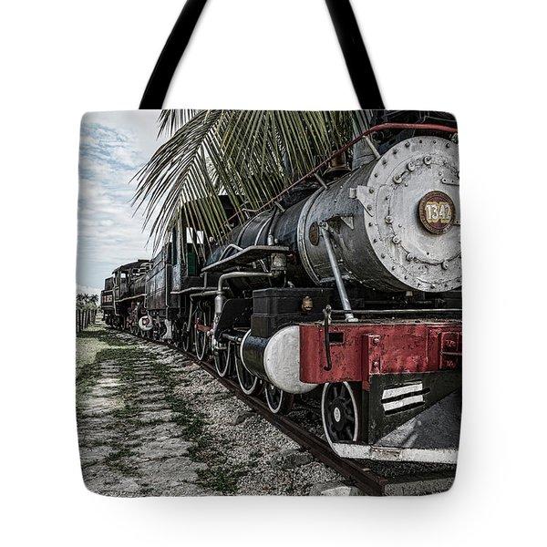 Engine 1342 Parked Tote Bag