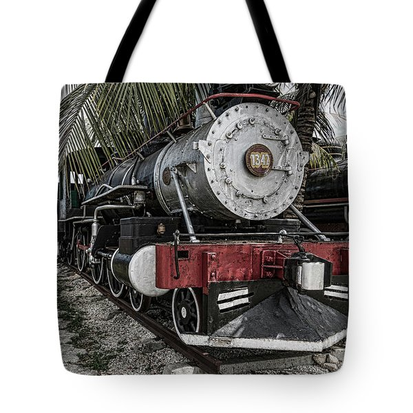 Engine 1342 Parked Tote Bag