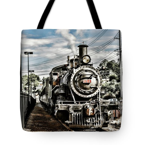 Engine 154 Tote Bag