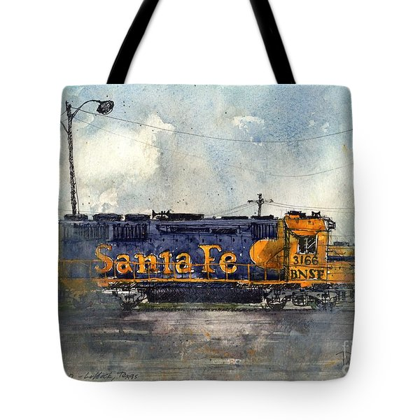 Engine 3166 Tote Bag