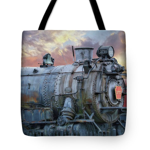 Tote Bag featuring the photograph Engine 3750 by Lori Deiter