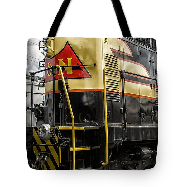 Tote Bag featuring the photograph Engine 405 by JRP Photography