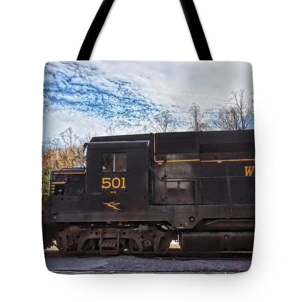 Engine 501 Tote Bag