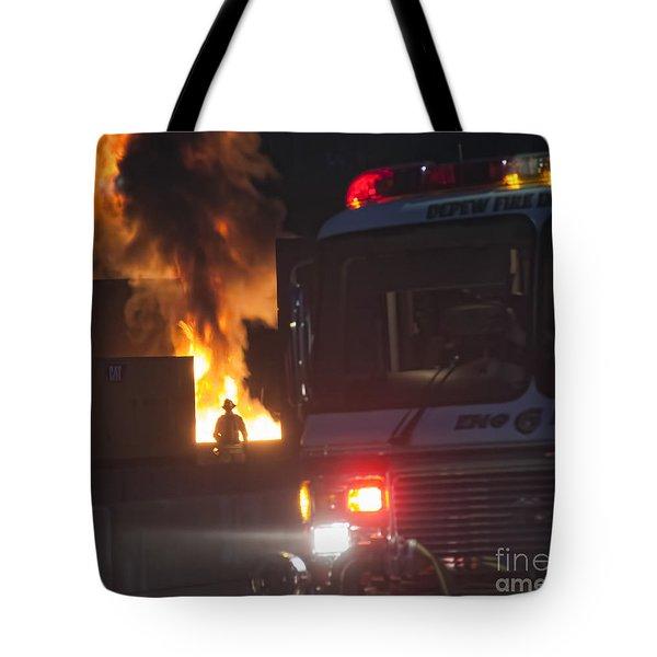 Engine 6 Tote Bag