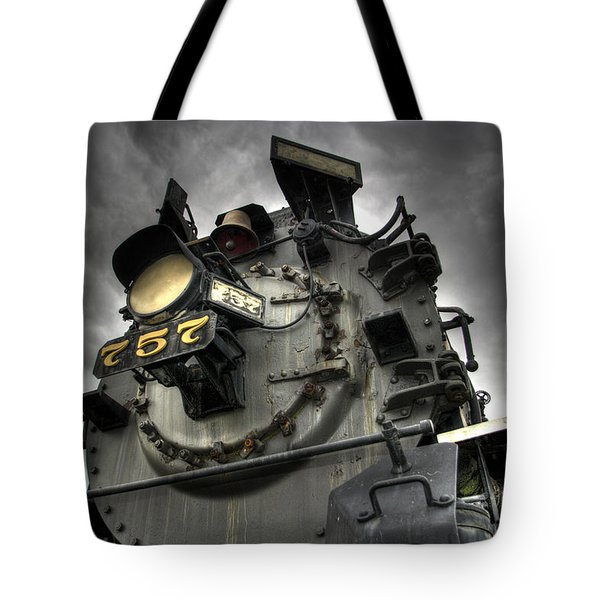 Engine 757 Tote Bag by Scott Wyatt
