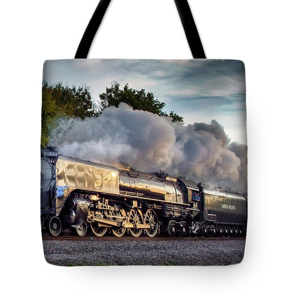 Engine 844 At The Dora Crossing Tote Bag