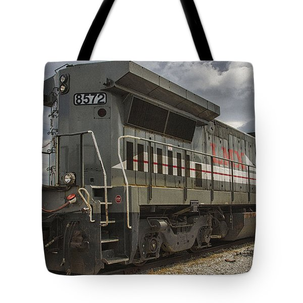 Tote Bag featuring the photograph Engine 8572 by JRP Photography