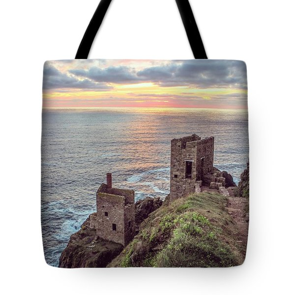 Engine Houses At Crown Mines Tote Bag