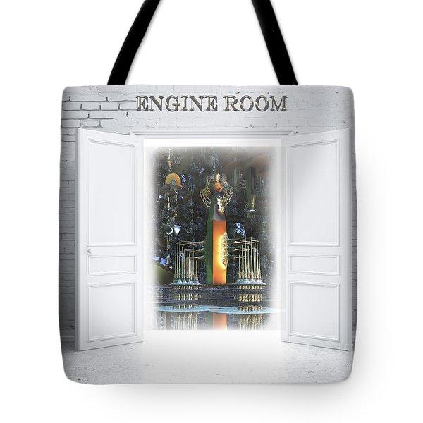 Engine Room Tote Bag