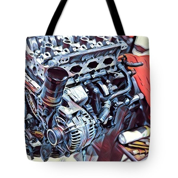 Engine  Tote Bag