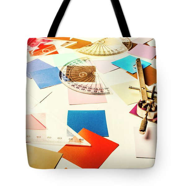 Engineering Colour Rules Tote Bag