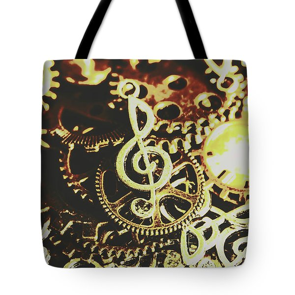 Engineering The Music Industry Tote Bag