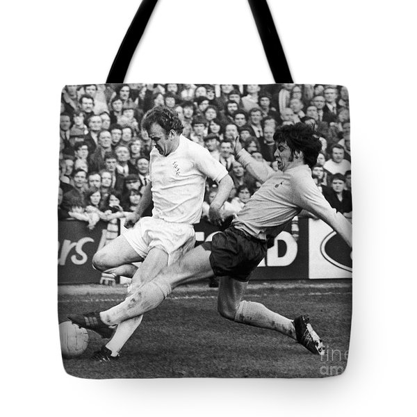 England: Soccer Match, 1972 Tote Bag by Granger