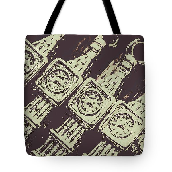 England Tourism Past Tote Bag