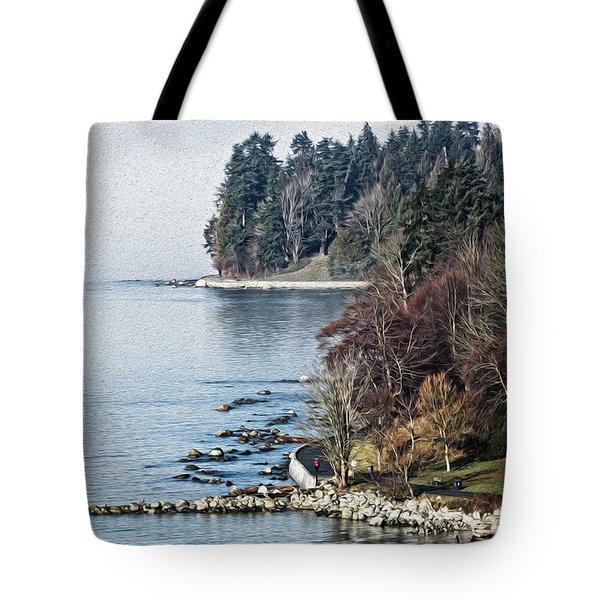 English Bay Shore Tote Bag