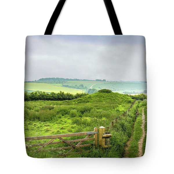 English Country Landscape 2 Tote Bag