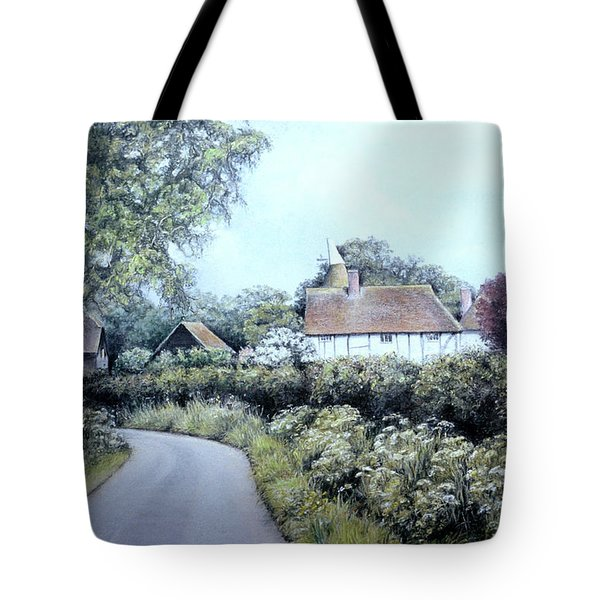 English Country Lane Tote Bag