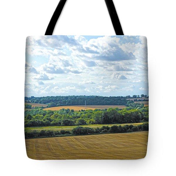 English Countryside Tote Bag