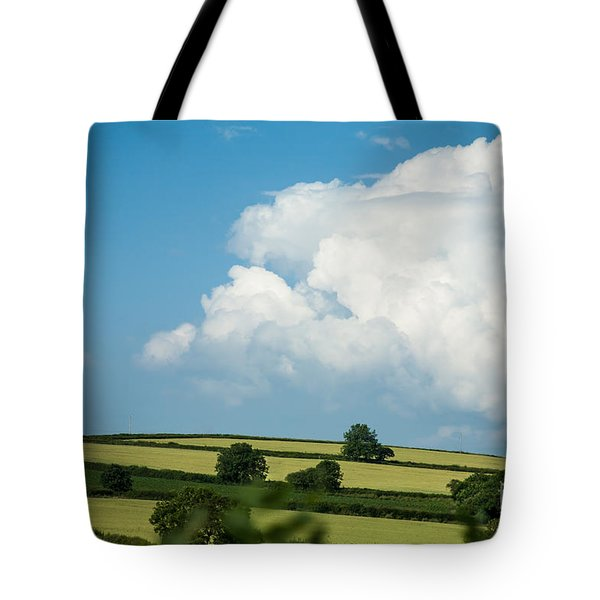 Tote Bag featuring the photograph English Countryside In Summer by Jan Bickerton