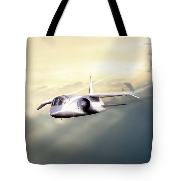 Tote Bag featuring the digital art English Enigma by Peter Chilelli