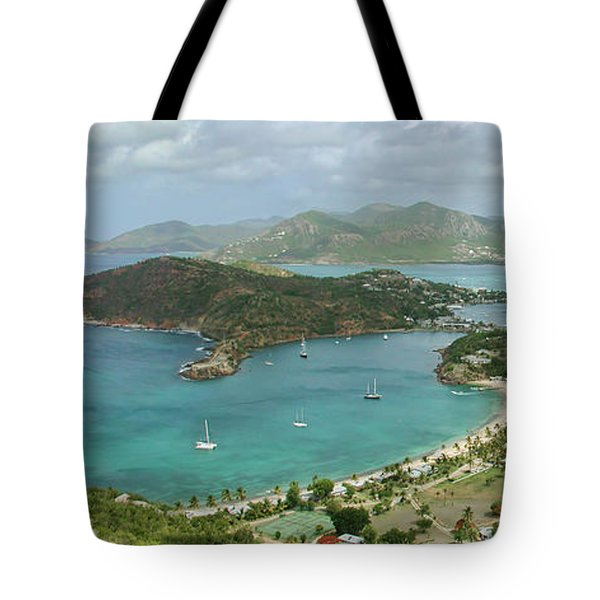 English Harbour Antigua Tote Bag by John Edwards