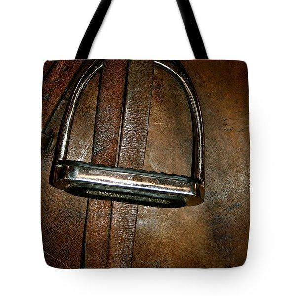 English Leather Tote Bag