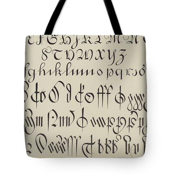 Engrossing And Court Hand  Tote Bag
