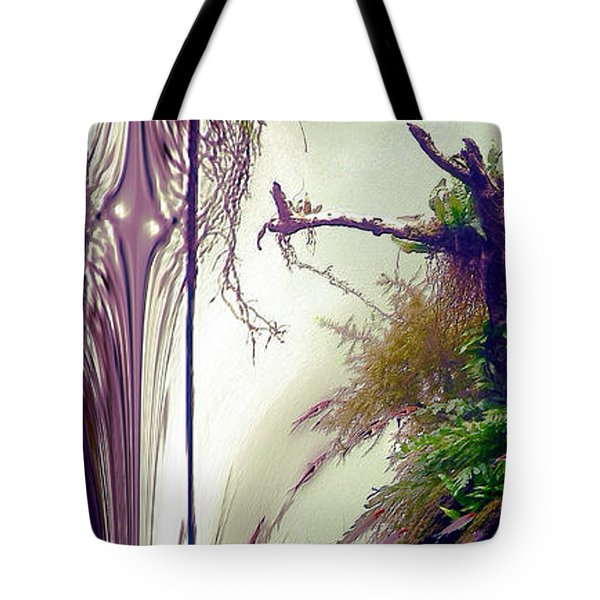 Enigma No 3 Tote Bag by Robert G Kernodle