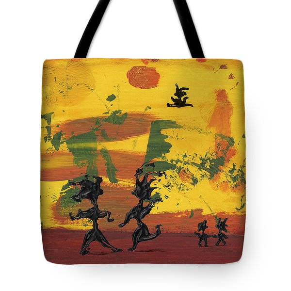 Enjoy Dancing Tote Bag