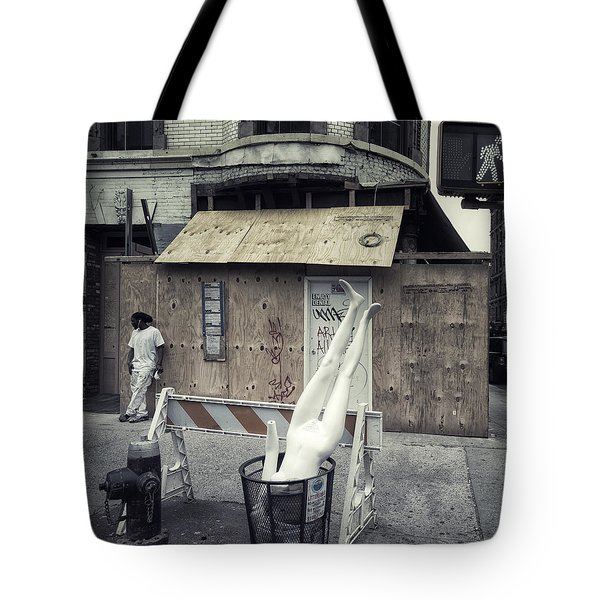 Enjoy Denial Tote Bag