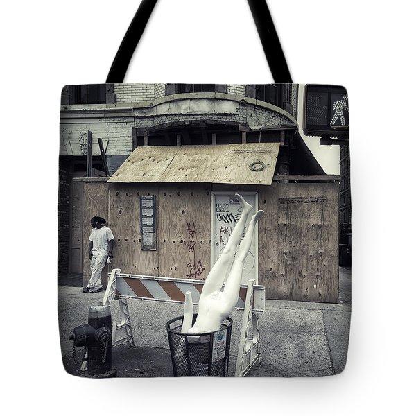 Enjoy Denial Tote Bag