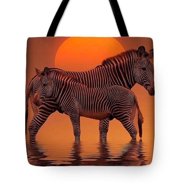 Enjoy Life Tote Bag by Gabriella Weninger - David