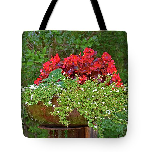 Enjoy The Garden Tote Bag