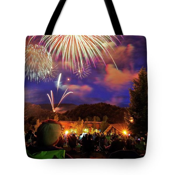 Enjoying The Show Tote Bag