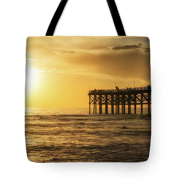 Enjoying The View Tote Bag by Joseph S Giacalone