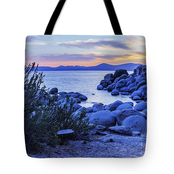 Enjoying The View From Nevada Tote Bag by Nancy Marie Ricketts